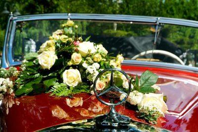 Hochzeitsauto mieten | Mercedes Benz 230W 143